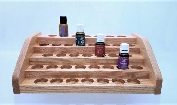 Oil Vial Display